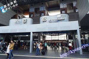 京都駅の中央改札口