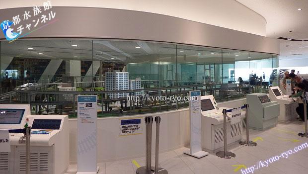 京都鉄道博物館の本館2階