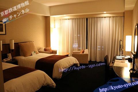 ホテルグランヴィアのスーペリアツイン
