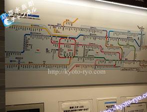 JR西日本の路線図