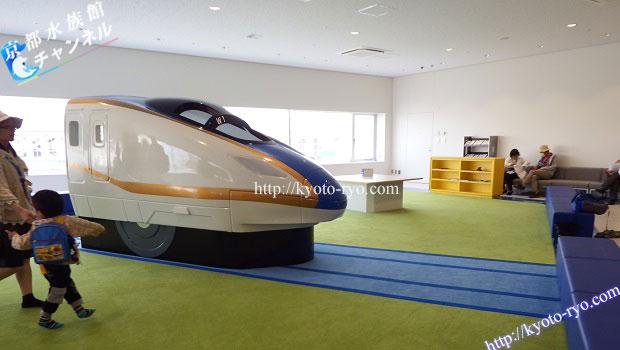 京都鉄道博物館のキッズコーナー