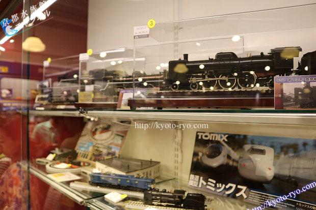 京都鉄道博物館のお土産ショップ