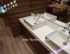 手を洗う洗面台