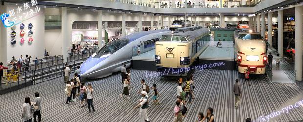 京都鉄道博物館の本館入り口