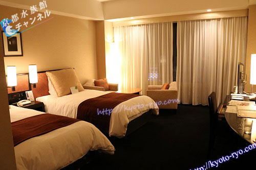 ホテルグランヴィア京都のスーペリアツインルーム