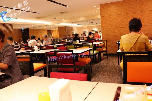 ホテル近鉄京都駅の朝食会場