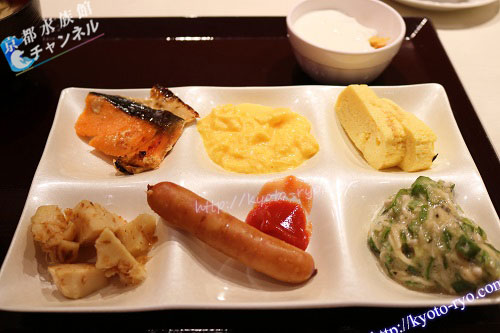ホテル近鉄京都駅の朝食