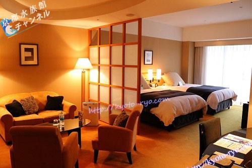 ホテルグランヴィア京都のセミスイートルーム