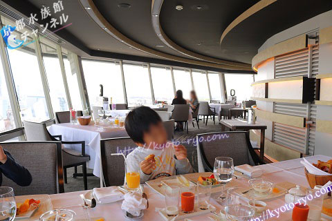 リーガロイヤルホテル京都の回転展望レストラン
