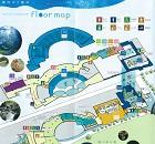 京都水族館の地図