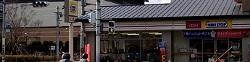 京都水族館周辺のコンビニ<