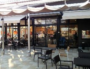 梅小路パークカフェの外観