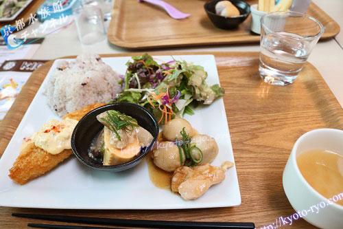 京野菜を使ったランチプレート