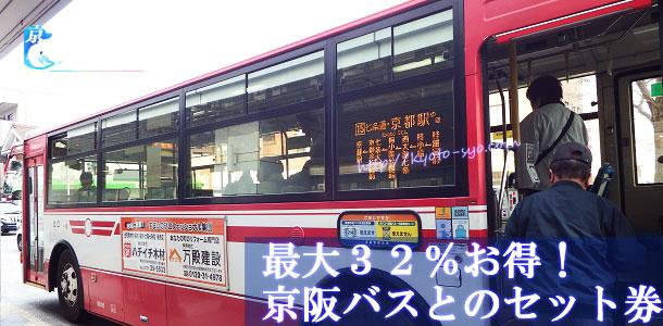 京阪バスと京都水族館のセット券